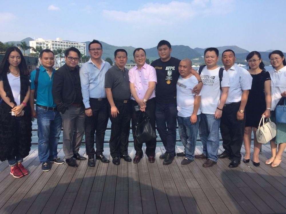 四川省綿陽市涪城區工商業聯合會拜訪本會